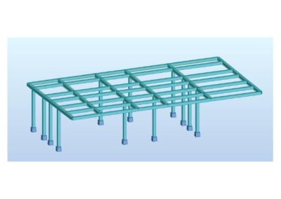 STEEL FLOOR ADDITION ON MASONRY BUILDING & STRENGTHENING OF EXISTING BUILDING
