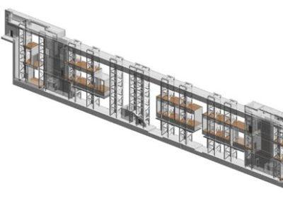 Metro Stations structural design & BIM