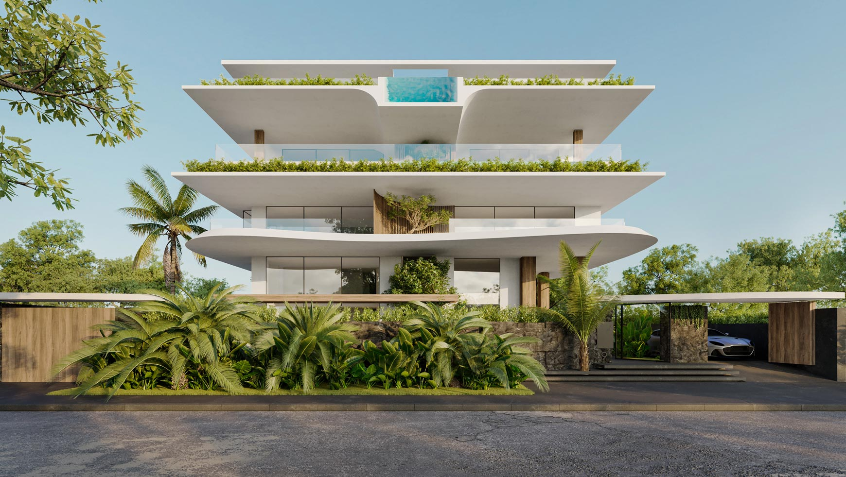 FIVE STOREY BUILDING IN THE DISTRICT OF VOULIAGMENI